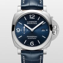 Panerai Luminor Marina Steel 44mm Blue Arabic numerals