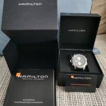 Hamilton Khaki X-Wind Acier Noir