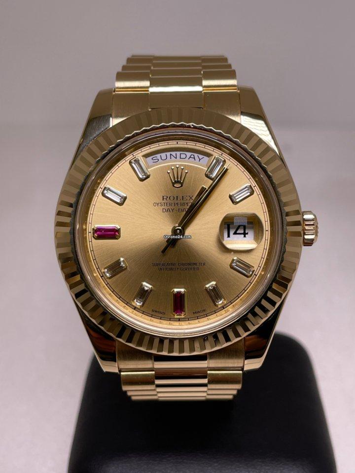 Rolex (ロレックス) デイデイト II 218238 2011 新品