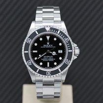 Rolex Sea-Dweller 4000 Zeljezo 40mm Crn Bez brojeva