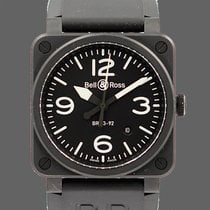 Bell & Ross BR 03-92 Ceramic Céramique 42mm Noir Arabes