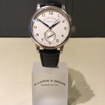 A. Lange & Söhne White gold 40.5mm Manual winding 297.026 new