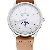 Jaeger-LeCoultre Master Calendar 4148420 Goed Staal 40mm Automatisch