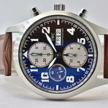 IWC IW371709 Steel 2007 Pilot Chronograph 42mm pre-owned