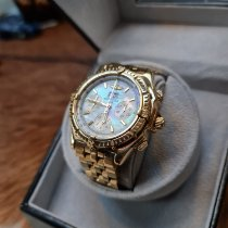 Breitling Crosswind Special Yellow gold Mother of pearl No numerals
