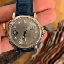 Ulysse Nardin Steel Automatic Grey Roman numerals 40mm pre-owned San Marco Big Date