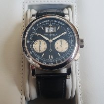 A. Lange & Söhne Datograph Platinum 39mm Black Roman numerals United States of America, New York, Ithaca