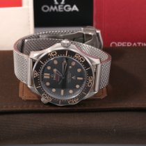 Omega Seamaster Diver 300 M Titanium 42mm Black No numerals United States of America, California, Los Angeles