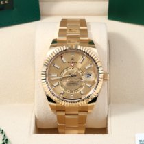 Rolex Sky-Dweller Yellow gold 42mm Gold Arabic numerals United States of America, California, Los Angeles