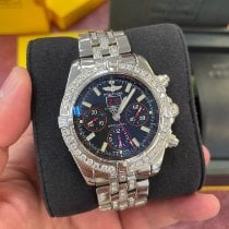 Breitling Blackbird Steel 44mm Black No numerals United States of America, New Jersey, Totowa