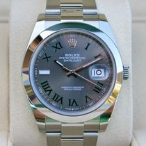Rolex Datejust II Steel 41mm Blue No numerals United Kingdom, London