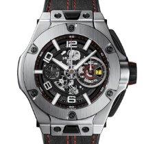 Hublot Big Bang Ferrari Titanium 45mm Black Arabic numerals United States of America, Massachusetts, cambridge