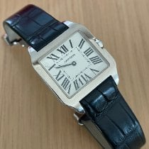 Cartier W2009451 White gold 2012 Santos Dumont pre-owned