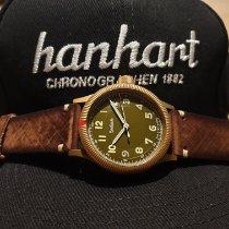 Hanhart Pioneer 762L.390-5110 Neuve Bronze 42mm Remontage automatique France, Pithiviers