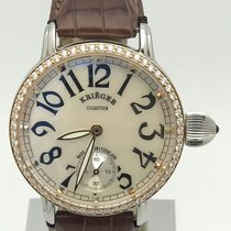 Hamilton pre-owned Manual winding 43mm Mother of pearl Sapphire crystal 3 ATM