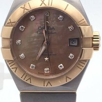 Omega Gold/Steel 27.5mm Automatic Constellation new United States of America, Illinois, BUFFALO GROVE