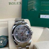 Rolex Datejust Zeljezo 41mm Siv Rimski brojevi Hrvatska
