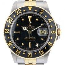 Rolex GMT-Master Gold/Stahl 40mm Schwarz Schweiz, Lugano