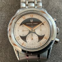 Universal Genève Compax new 1994 Manual winding Chronograph Watch with original box and original papers 884.480