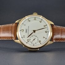 IWC Portuguese Minute Repeater Rose gold 43mm Silver