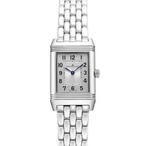 Jaeger-LeCoultre Reverso Classic Small Duetto Stahl 34mm Silber