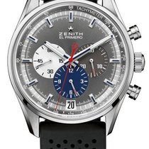 Zenith El Primero 36'000 VpH Steel 42mm Grey United States of America, Florida, Sunny Isles Beach