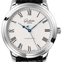 Glashütte Original Senator Automatic Steel 40mm Silver Roman numerals United States of America, Florida, Sunny Isles Beach