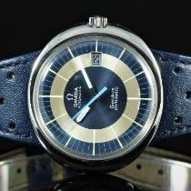 Omega Genève Steel 41mm Blue No numerals