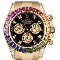 Rolex Daytona 116598 RBOW Very good Yellow gold 40mm Automatic