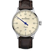 Meistersinger Pangaea Steel 40mm Champagne Arabic numerals
