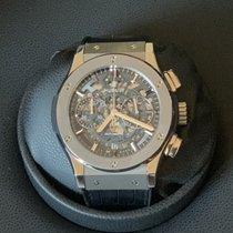 Hublot Classic Fusion Aerofusion nowość 2021 Automatyczny Chronograf Zegarek z oryginalnym pudełkiem i oryginalnymi dokumentami 525.NX.0170.LR