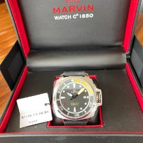 Marvin Steel 43mm Automatic 027419 pre-owned