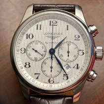 Longines L2.859.4.78.3 Steel 2018 Master Collection 44mm pre-owned United States of America, Massachusetts, westford