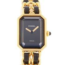 Chanel Quartz Black No numerals 20mm pre-owned Première