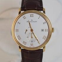Blancpain Villeret Ultra-Slim Pозовое золото 40mm Cеребро Римские
