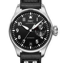 IWC Große Fliegeruhr Stahl 46.2mm Schwarz Arabisch Deutschland, Weißenhorn