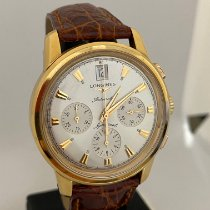 Longines L1.641.8 Yellow gold 2015 Conquest Heritage new