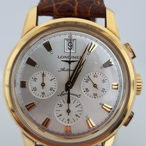 Longines Conquest Heritage Yellow gold Silver