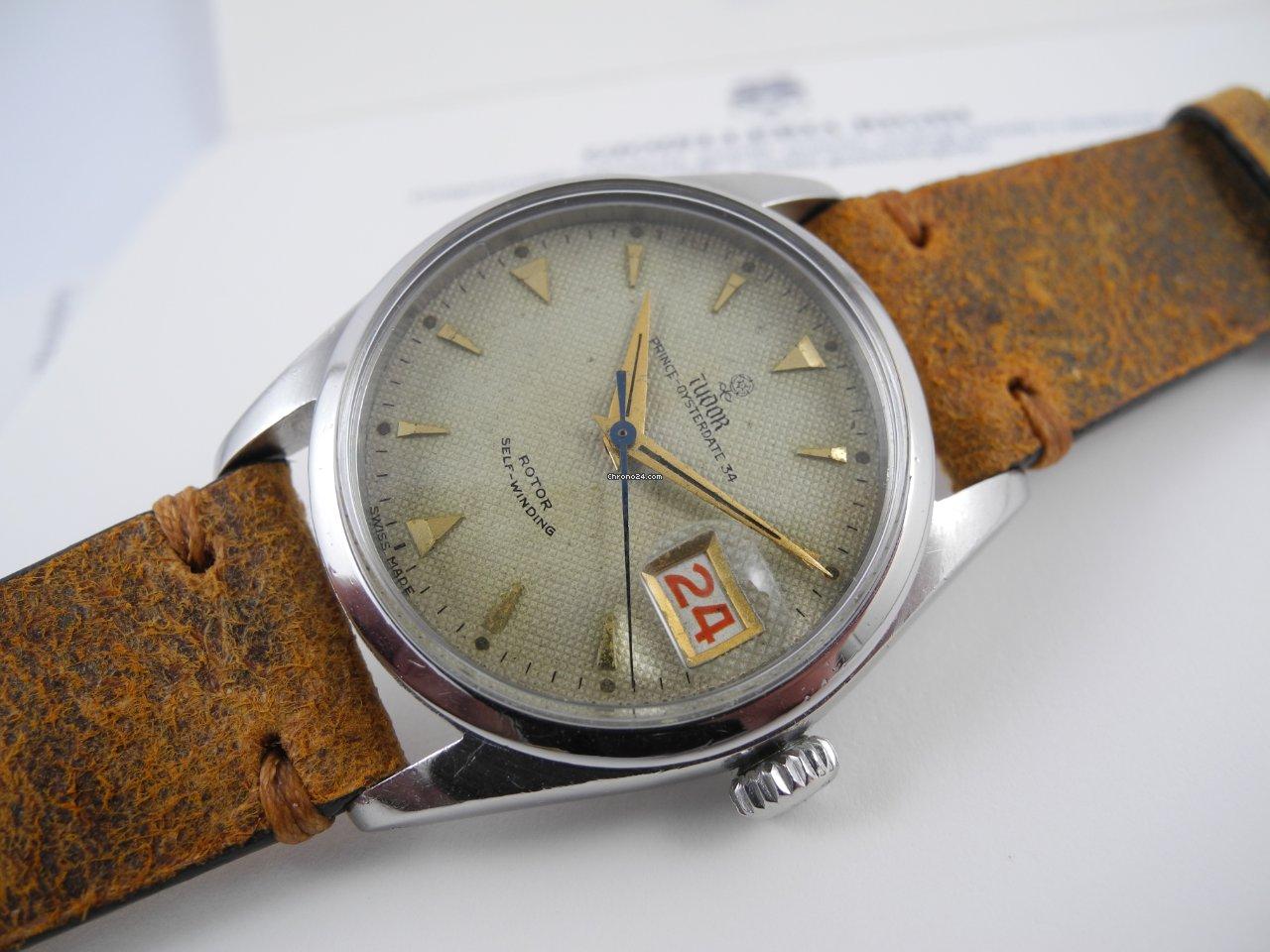 Tudor Prince Oysterdate 7914 1955 brukt