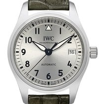 IWC Pilot's Watch Automatic 36 Acero 36mm Plata Arábigos