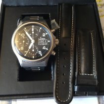Sinn 356 Steel 38.5mm Black Arabic numerals