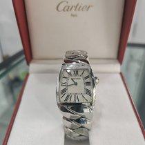 Cartier La Dona de Cartier Сталь 28mm Белый Римские