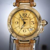 Cartier Κίτρινο χρυσό 38mm Αυτόματη 1989 μεταχειρισμένο