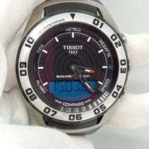 Tissot Sailing-Touch pre-owned 45mm Black Chronograph Alarm Rubber