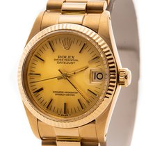 Rolex Lady-Datejust Yellow gold 31mm Gold No numerals