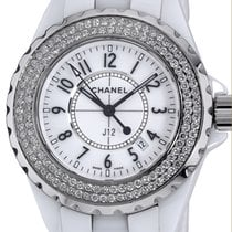 Chanel Ceramic J12 33mm pre-owned United States of America, New York, Greenvale