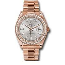 Rolex Day-Date 40 Rose gold 40mm Pink No numerals United States of America, New York, New York