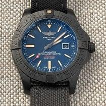 Breitling Avenger Blackbird Titanium 48mm Blue No numerals