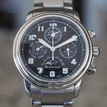 Blancpain Léman Fly-Back Сталь Черный