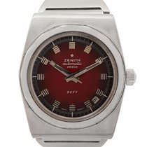 Zenith Defy Steel 37mm Red No numerals